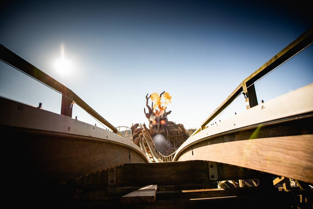 Kampf der Giganten Foto: Heide Park Resort Soltau, 2019