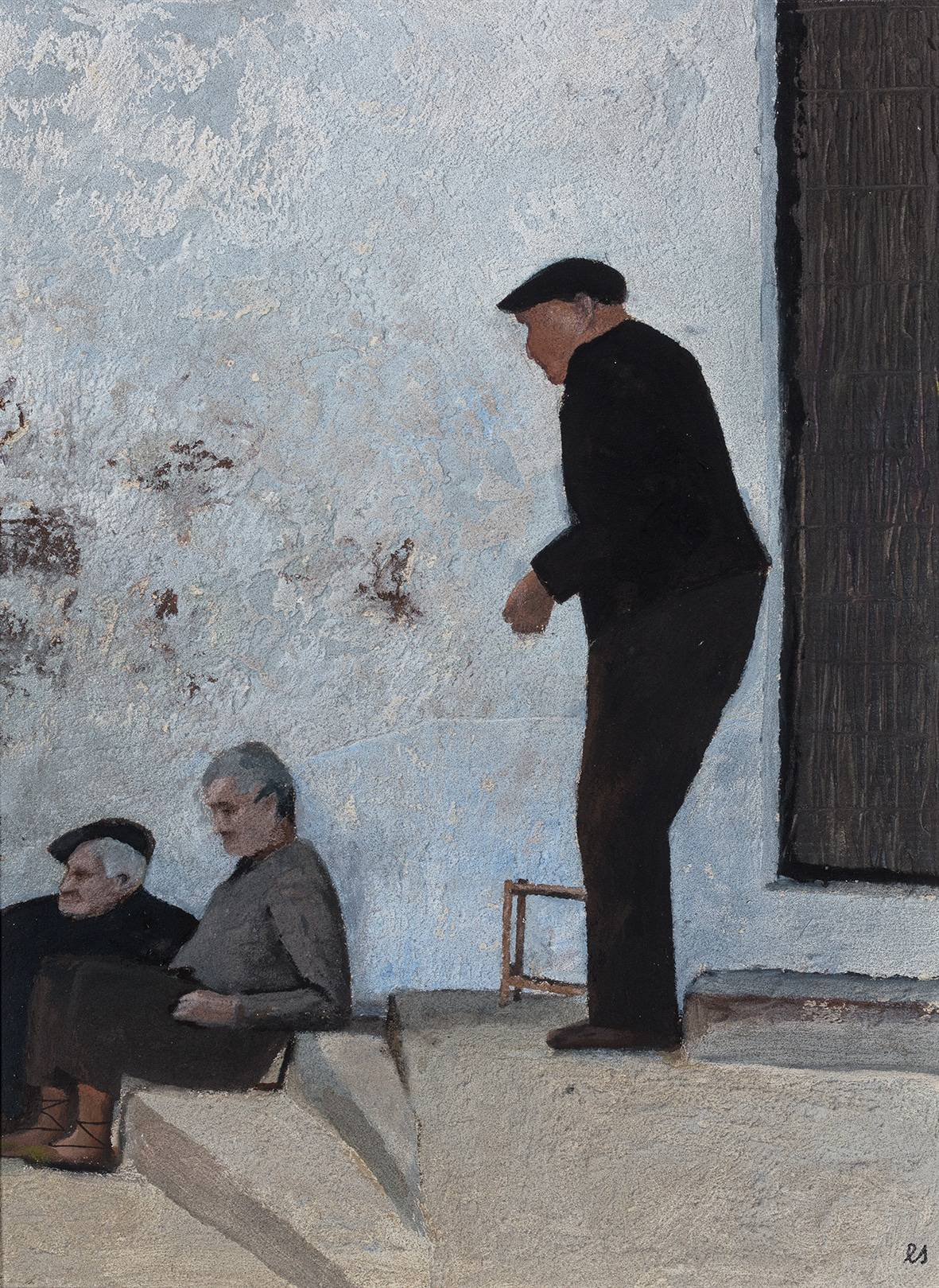 Eberhard Schlotter Los viejos de Bollula, 2002 © Bomann-Museum, Celle