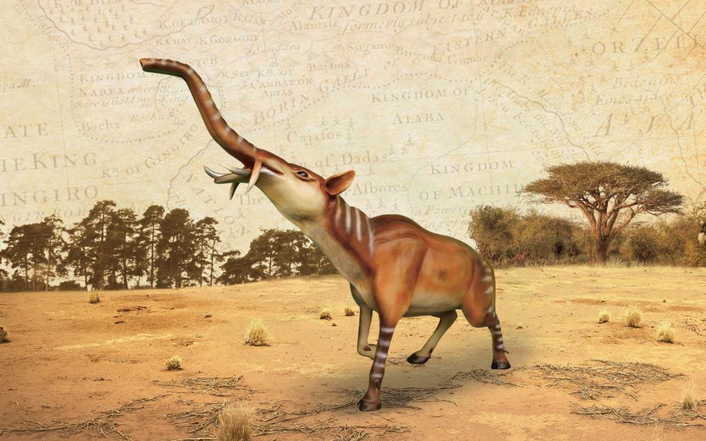 Die Tiere der Zukunft in der Abenteuer-Safari (Freizeitpark). Foto: Serengeti-Park Hodenhagen