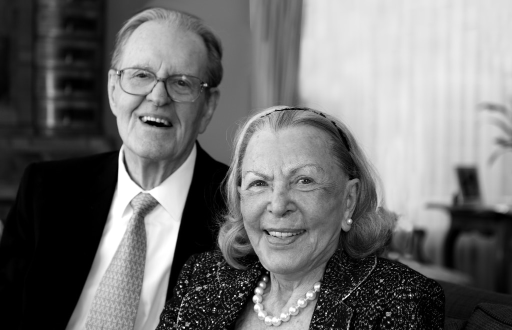 Ernest Tansey und Lieselotte Tansey © Tansey Miniatures Foundation, Celle