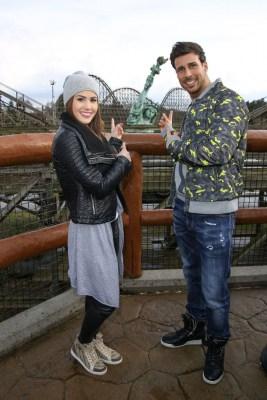 Angelina Heger und Leonard Freier im Heide Park Resort  Foto: Heide Park Resort, 2016