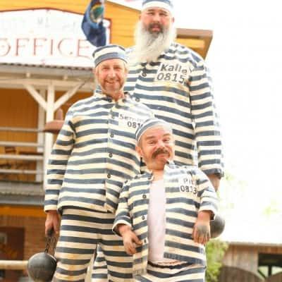 Die Banditen Semmel, Pit und Kalle, Heide Park Resort, (2015)