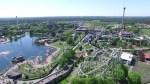 Das Heide Park Resort von oben