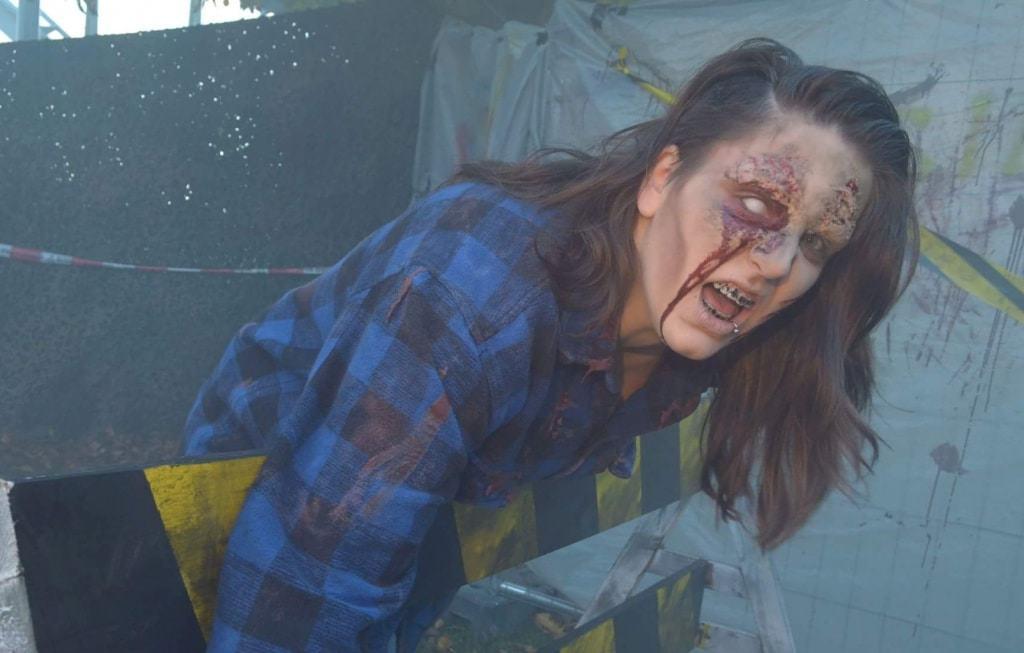 Skurriles Hobby: Erschrecker in der Hamburger Boo-Crew Foto: Heide Park Resort, 2017