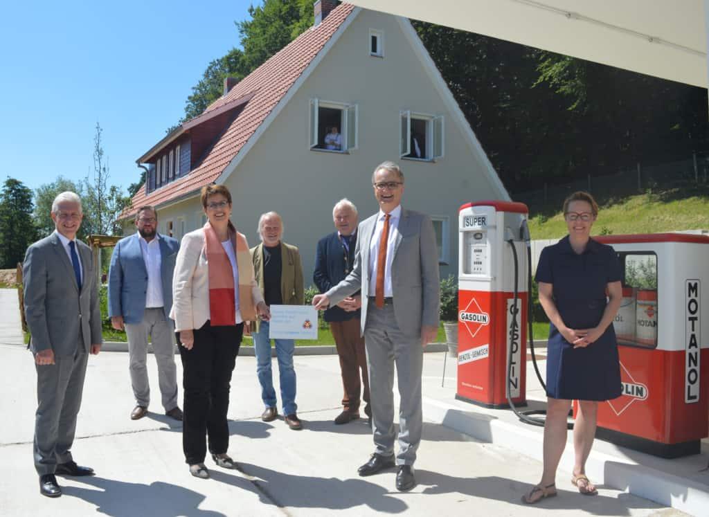 Eröffnung des Hauses der Geschichte im Freilichtmuseum am Kiekeberg   Foto: Metropolregion Hamburg