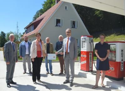 Eröffnung des Hauses der Geschichte im Freilichtmuseum am Kiekeberg | Foto: Metropolregion Hamburg