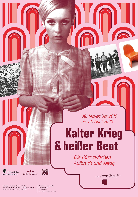 """Ausstellungsplakat """"Kalter Krieg & Heißer Beat"""""""