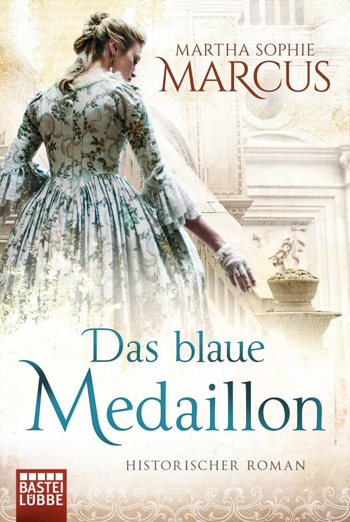 "Coverabbildung ""Das blaue Medaillon"" von Martha Sophie Marcus, ISBN 978-3404175642"
