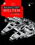 Plakat der aktuellen Ausstellung Raumschiffwelten aus LEGO® Bausteinen - Stein auf Stein aus der Sammlung Lange ©Bomann-Museum Celle