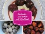 SCHÖNE-HEIDE-Rezept: Backofen-Pflaumen mit Grießbrei