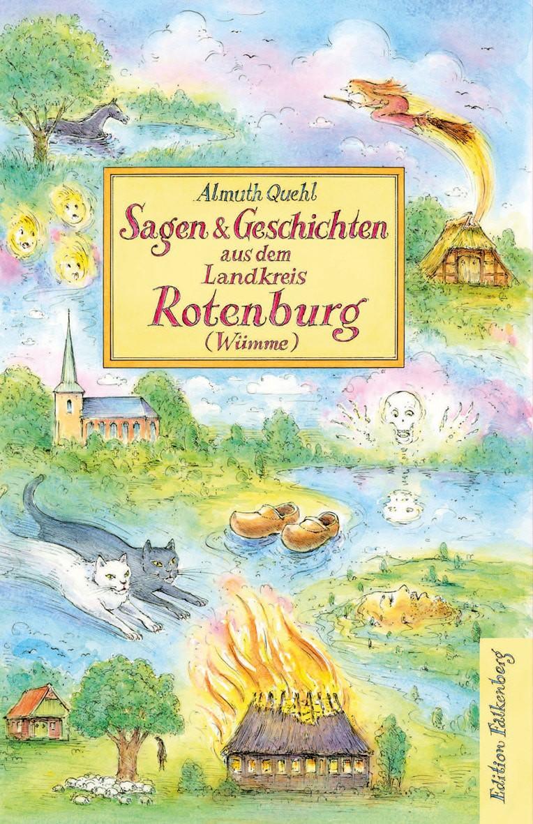 Buchtitel Sagen & Geschichten aus dem Landkreis Rotenburg (Wümme) (c) Edition Falkenberg