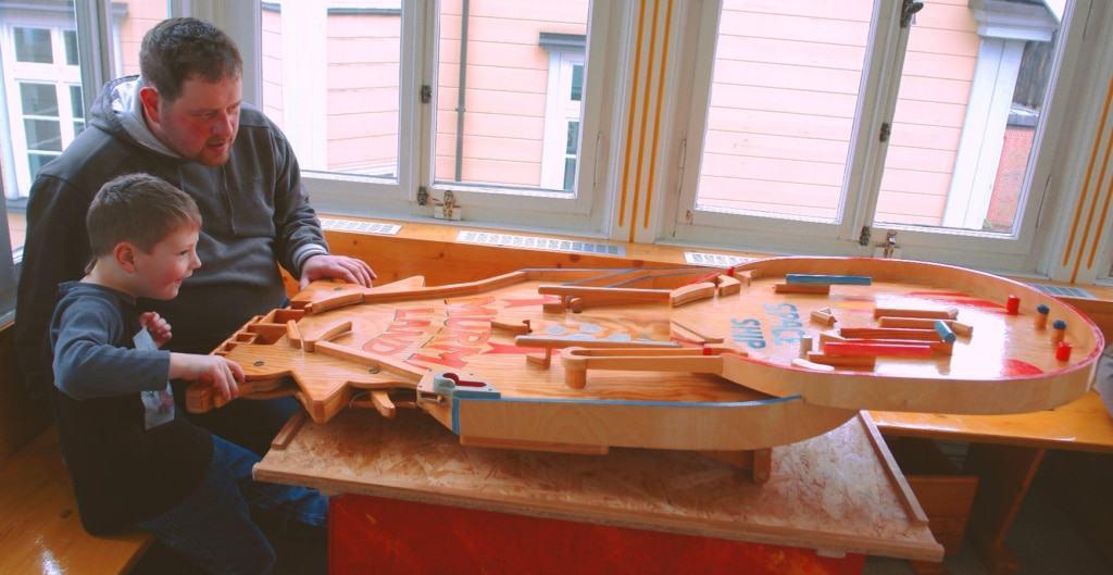 Murmiland-Flipper zum Bespielen. Foto: Spielmuseum Soltau
