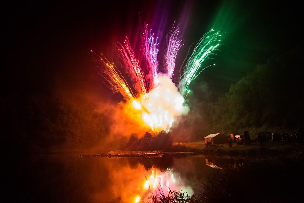 """Impressionen vom Heideblütenfestauftakt """"Der See brennt"""" Foto: Victoria Glaser"""