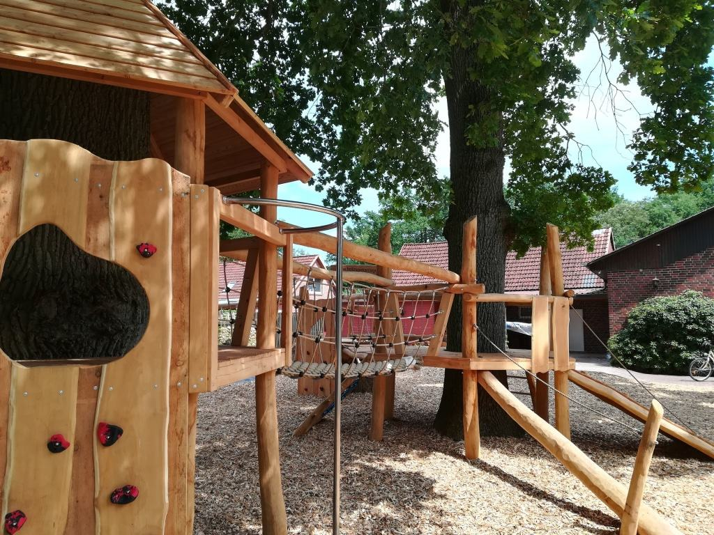 Kinderspielplatz am MühlWerk in Schneverdingen-Lünzen