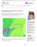 """Screenshot LBEG """" Mit der Straßenbahn durch 170 Millionen Jahre Erdgeschichte"""""""