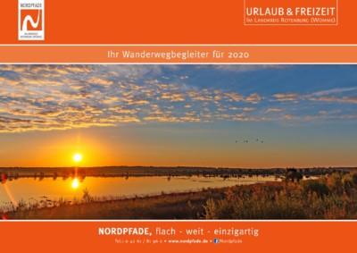 Titelblatt NORDPFADE Wandkalender 2020