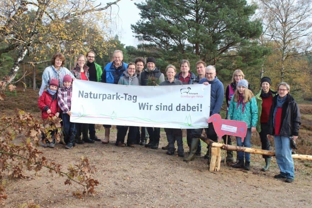 Naturpark-Tag 2019 im Büsenbachtal, Foto: Naturpark Lüneburger Heide