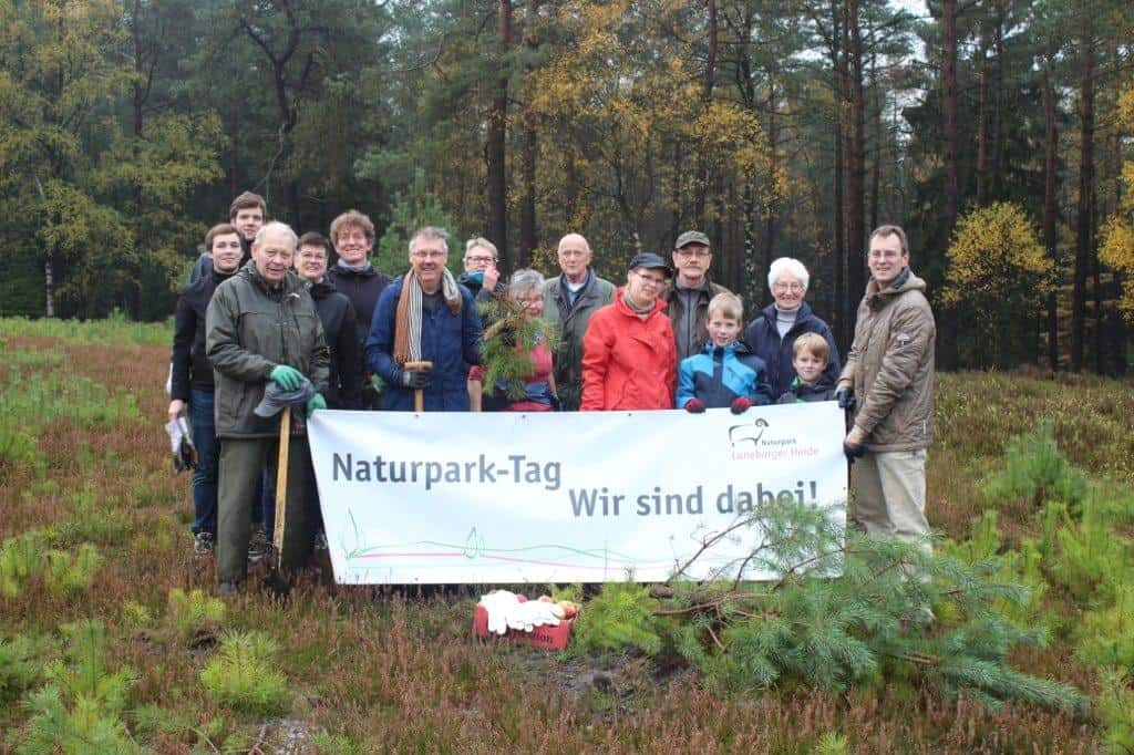 Naturpark-Tag 2019 am Brunsberg, Foto: Naturpark Lüneburger Heide