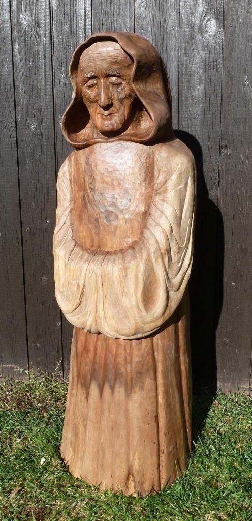 Holzfigur von Holger Seidel