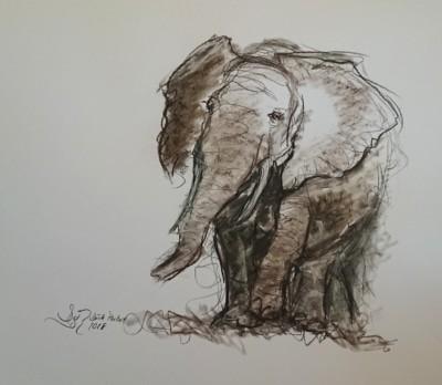 Dörte Pertiet - Elefant 2