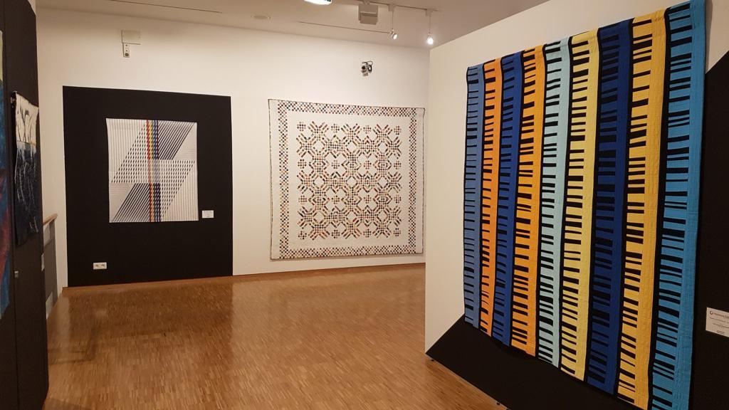 Einblick - Ausstellung Quilts aus dem 11. Wettbewerb: Tradition bis Moderne