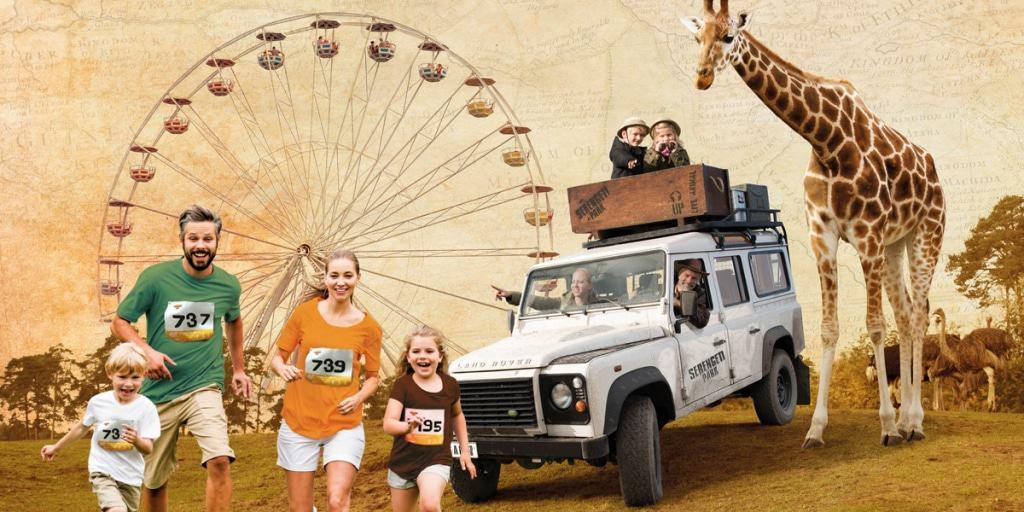Serengeti-Run am 05.05.2018 im Serengeti-Park