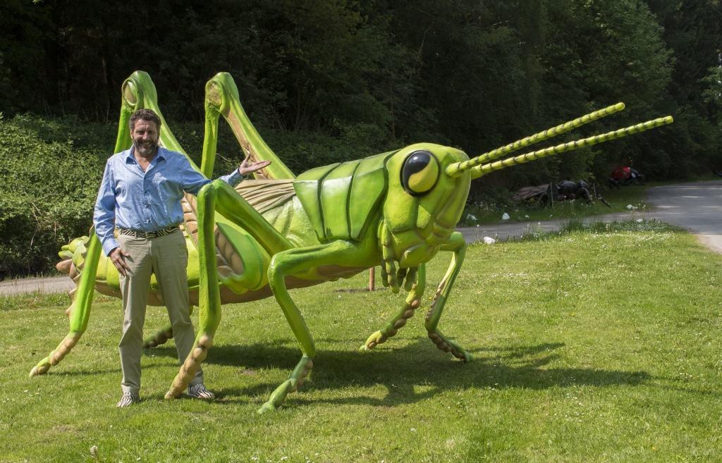 """In der neuen """"Bug Safari"""" im Serengeti-Park werden kleine Insekten riesengroß! Foto: Serengeti-Park Hodenhagen"""