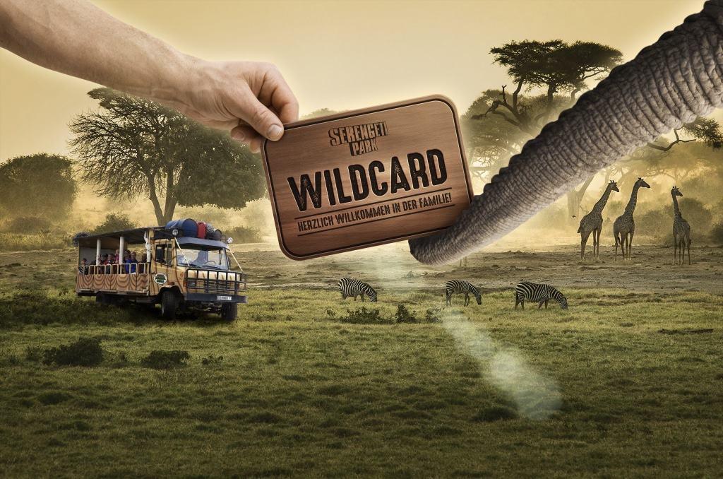 Neu: Die Wildcard, eine Jahreskarte, die 12 Monate ab Kaufdatum gültig ist. Foto: Serengeti-Park