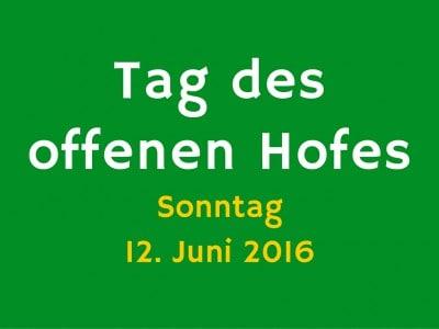 Tag des offenen Hofes in der Lüneburger Heide am 12. Juni 2016