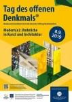 Plakat zum Tag des offenen Denkmals 2019, © Deutsche Stiftung Denkmalschutz