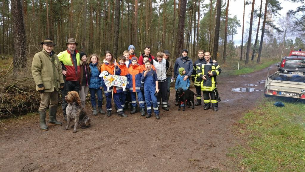 Jugendfeuerwehr Gellersen, Umweltbeauftragter Gellersen  © Naturpark Lüneburger Heide e.V.