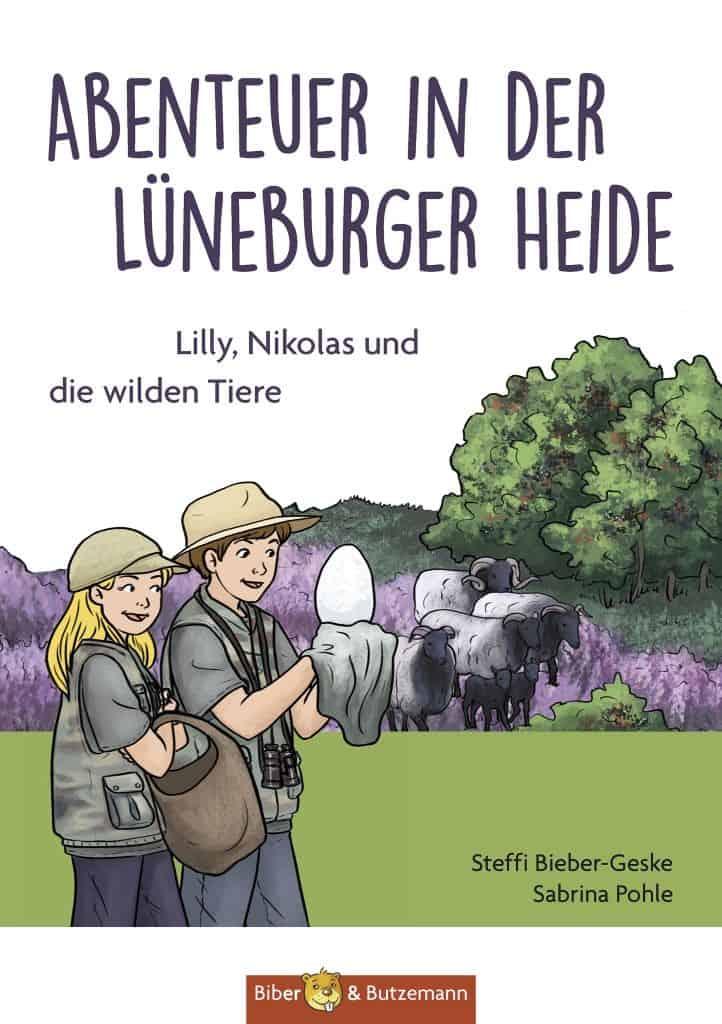 Buchcover Abenteuer in der Lüneburger Heide