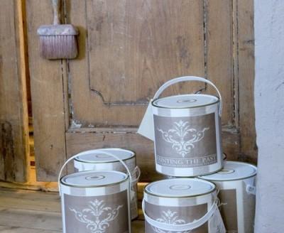 Im Adendorfer Waschzuber: Die wunderschöne Kreidefarbe Painting the Past - für Wand und Möbel mit der unvergleichlich schönen Farbauswahl (flämische Farbkarte)