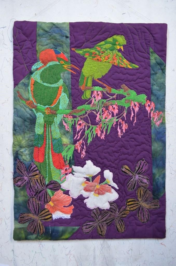 Art Quilt von Karin Flacke