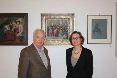 Wolfgang Steinweg und Gudula Mayr, Foto Kunststätte Bossard