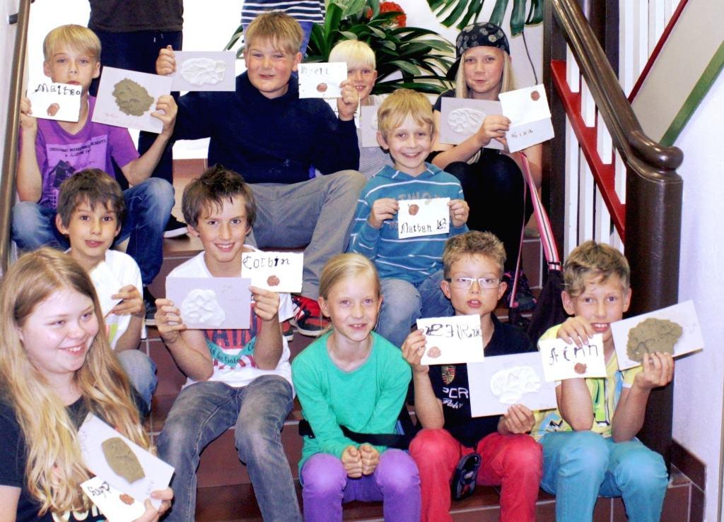 Kinder bei einem Geburtstagsprogramm am Bachmann-Museum Bremervörde © Bachmann-Museum Bremervörde