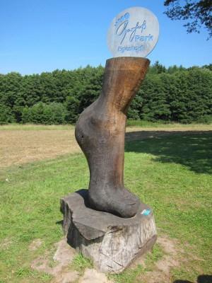 Natur hautnah erleben im Barfußpark in Egestorf in der Lüneburger Heide