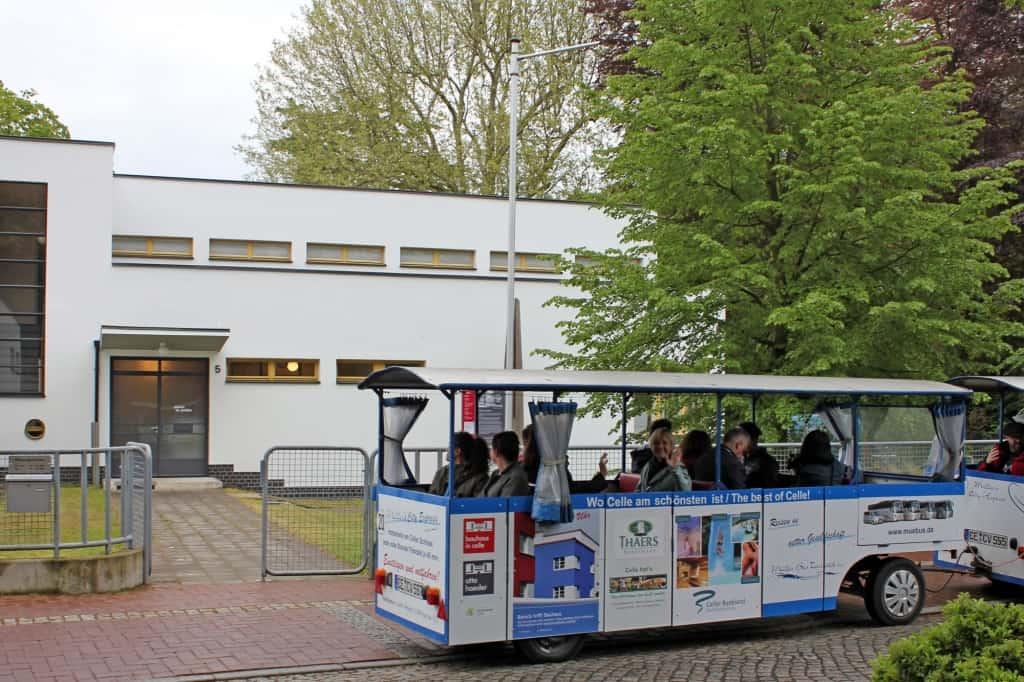 Die neue Bauhaus Bahn (Copyright: Celle Tourismus und Marketing GmbH   Fotograf: Marcus Feuerstein)