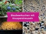Blaubeer-Blechkuchen mit knusprigen Streuseln