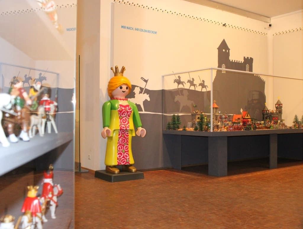 Blick in die PLAYMOBIL-Ausstellung Foto: Deutsches Pferdemuseum Verden