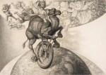 Johann Bossard: Das Tragikomische Labyrinth: Hohe Schule, 1944-46 © Christoph Irrgang, Hamburg