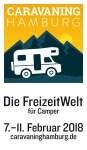 Logo Caravaning Hamburg 2018