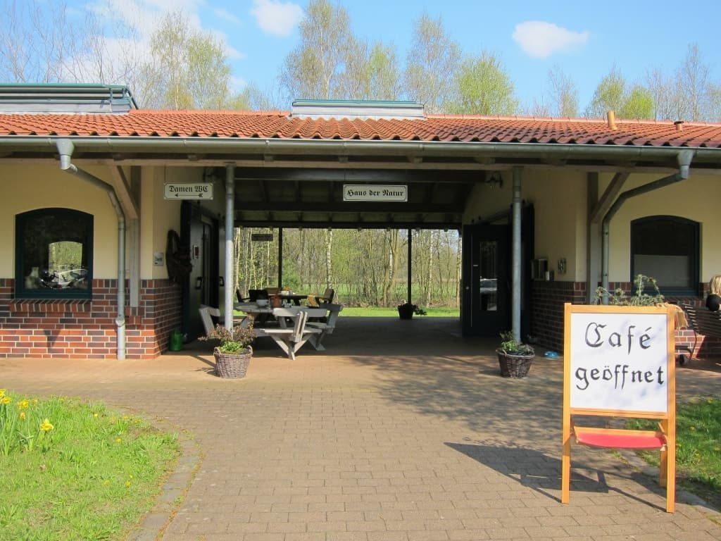 Café im Haus der Natur im Tister Bauernmoor.