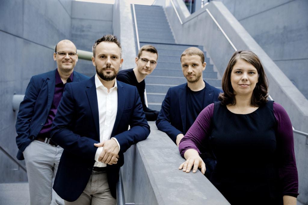 Calmus Ensemble Foto Irène Zandel