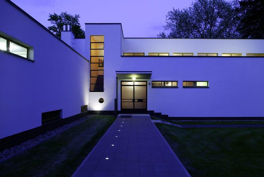 Die Direktorenvilla in Celle abends, Coypright: Marcus Jacobs
