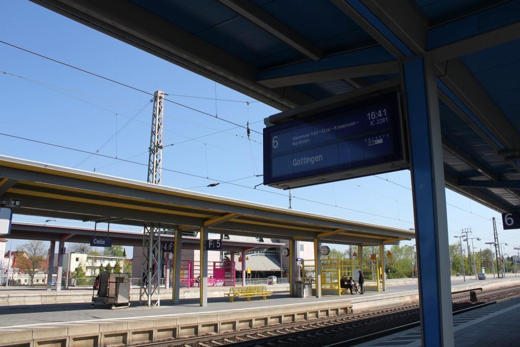 """Auf der Bahnstrecke Celle-Hannover, liebevoll auch """"Hasenbahn"""" genannt, wurden 1928 Versuche mit Raktenfahrzeugen durchgeführt. (Copyright: CTM GmbH)"""