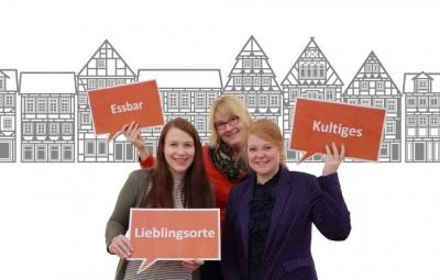 Celler Blogger, von links: Viktoria Hintz, Andrea Lyß und Sarah Jacobi, Foto: CTM GmbH