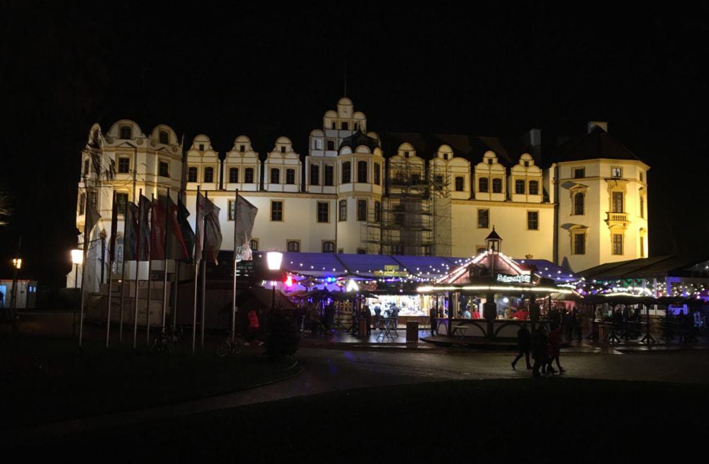 Celler Winterzauber am Schloss bei Nacht 2019