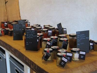 Produkte der Chilli Manufaktur im Hofladen
