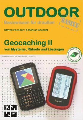 Coverabbildung Neuauflage Geocaching II/Autoren: Steven Ponndorf und Markus Gründel, ISBN:  9783866864283